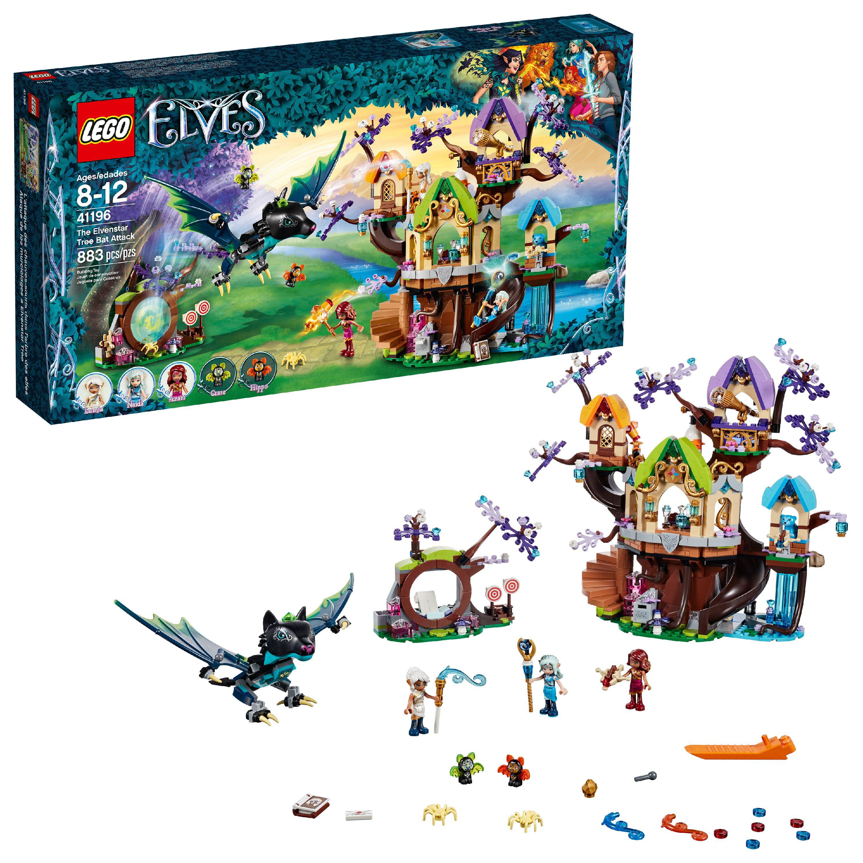 LEGO Elves The Elvenstar Tree Bat Attack 41196 (883 Pieces)