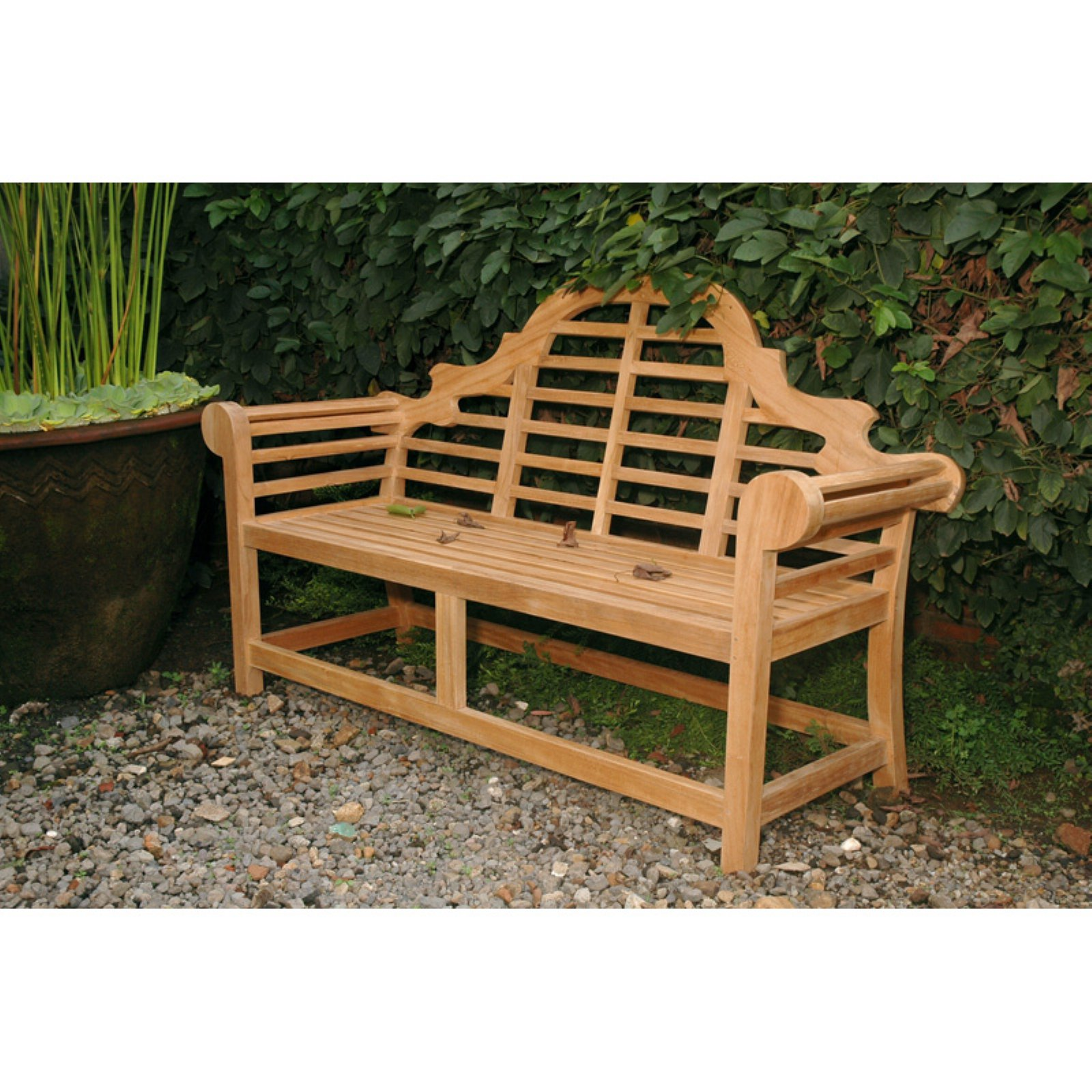 Anderson Teak Marlborough Outdoor Bench by Anderson Collection