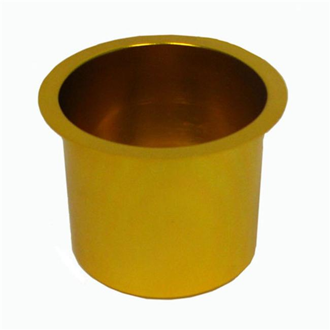 Jumbo Aluminum GOLD Poker Table Cup Holder by Trademark Global Inc