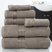 Somerset Home 100% Cotton Hotel 6-Piece Towel Set