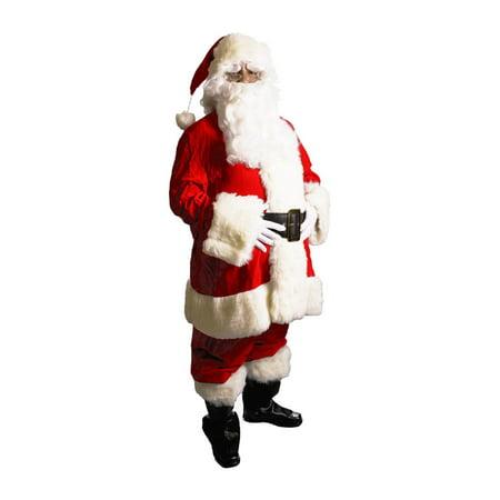 Large Velveteen Santa Costume (Hugh Hef Costume)