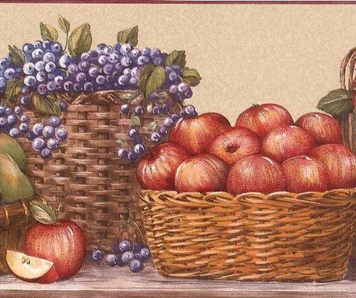 Blue Mountain Fruit Basket RCOO5163B Pears Blueberries Ap...