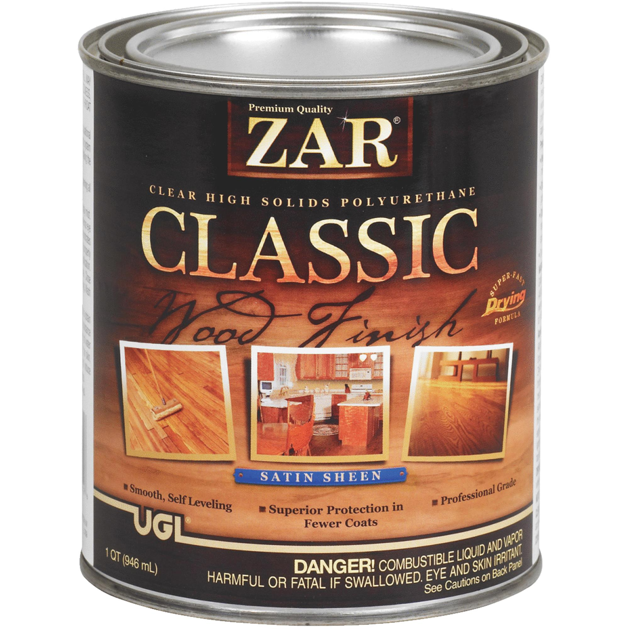 ZAR VOC Classic Wood Finish Interior Polyurethane