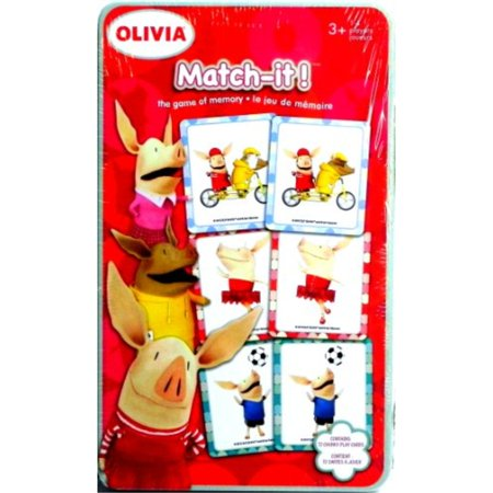Olivia Match-it! The Game of - Olivia Halloween Games