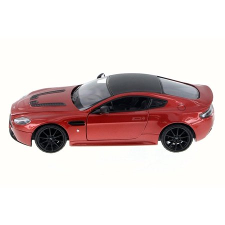 Aston Martin V12 Vantage S Coupe, Red - Motor Max 79322L - 1/24 Scale Diecast Model Toy Car (Brand New but NO
