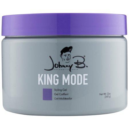 Johnny B Mode King Mode Styling Gel (12 oz) (Deep Purple Gel)