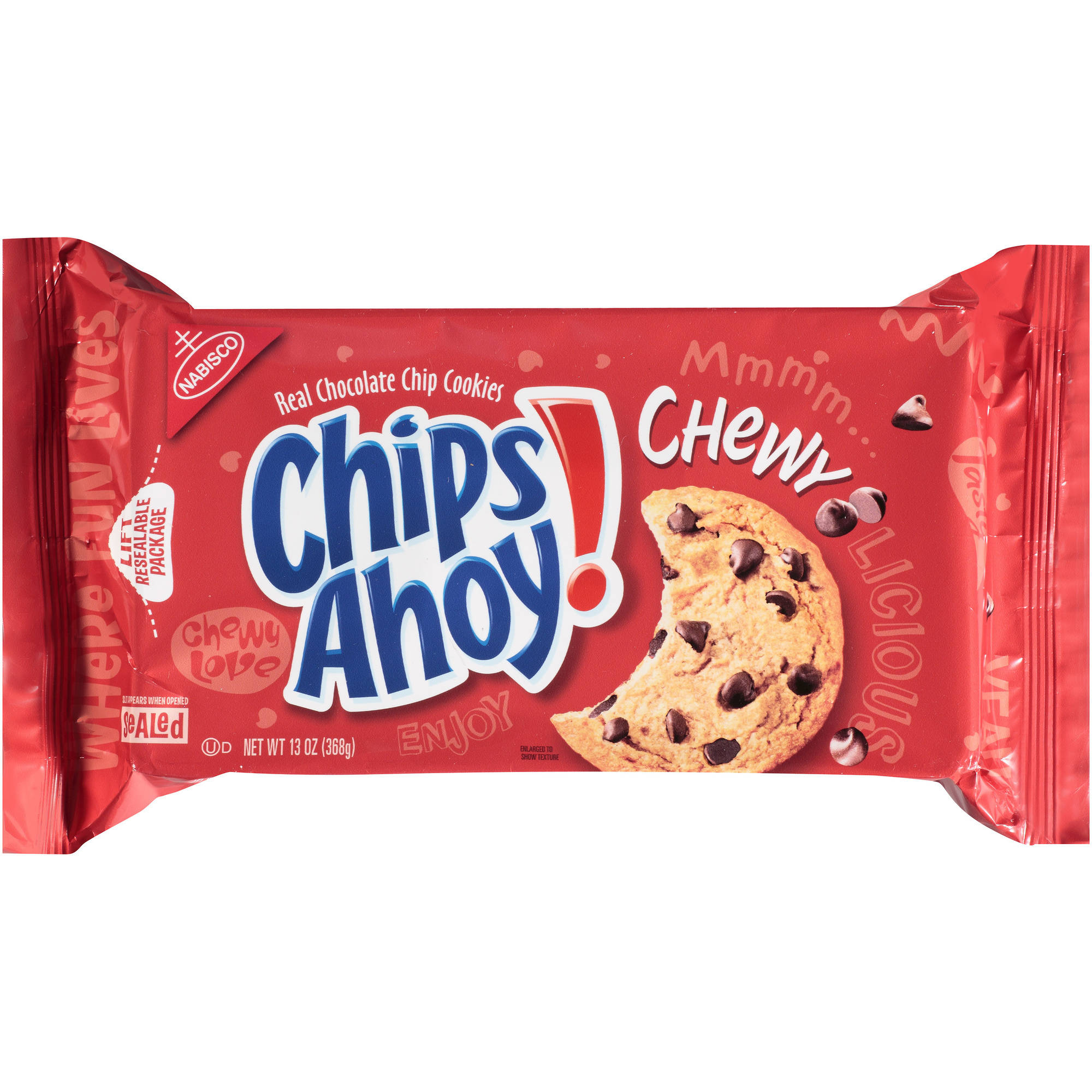 Nabisco Chips Ahoy! Chewy Chocolate Chip Cookies, 13 oz