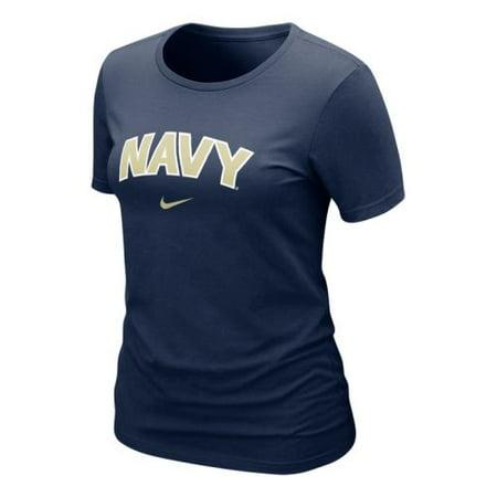 Nike Arch T-shirt - Nike Navy Midshipmen Women's Arch T-shirt