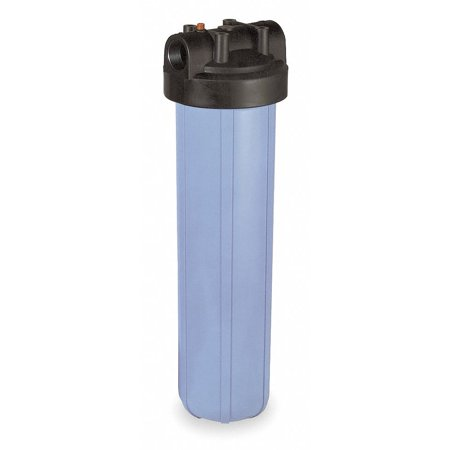 "Pentair/pentek Filter Housing, Polypropylene, 1"" NPT 1"" NPT Blue  150233-75"