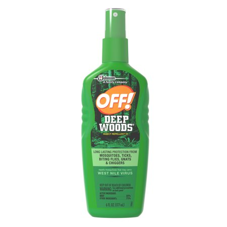 Off  Deep Woods Insect Repellent  6 Fl Oz