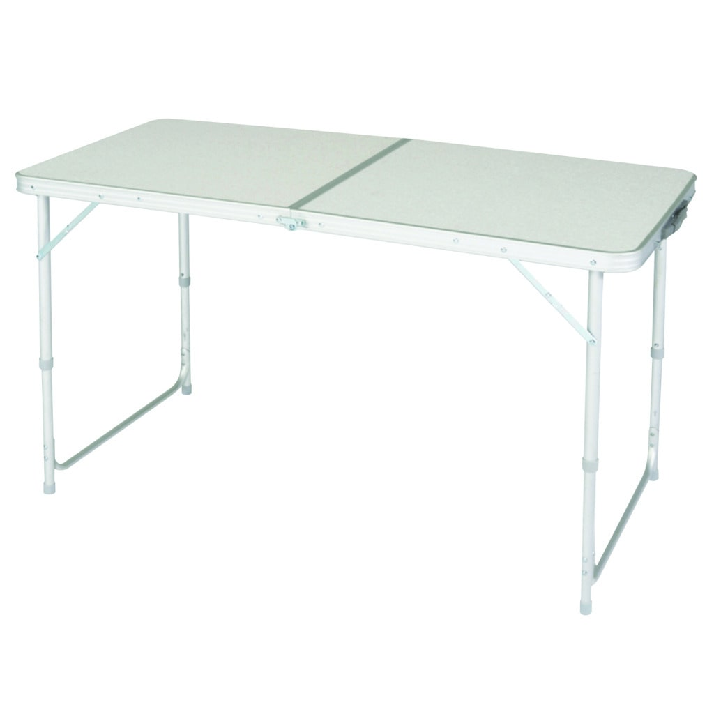 Wenzel Aluminum Camp Table by Overstock