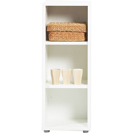 fairfax 2 shelf bookcase white. Black Bedroom Furniture Sets. Home Design Ideas