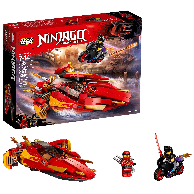 LEGO Ninjago Katana V11 70638 Building Set (257 Pieces)