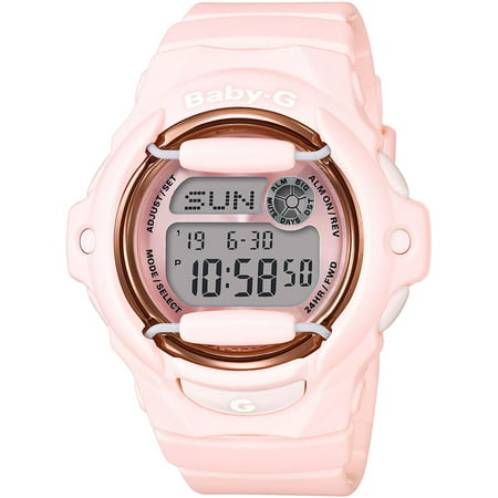 Rose Tone Automatic Watch (Baby-G BG169G-4B Face Protector Digital Watch (Baby Pink / Rose Gold Tone) )