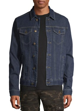 George Men's and Big Men's Denim Jacket, up to Size 3XL