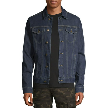 George Mens and Big Mens Denim Jacket, up to Size 3XL