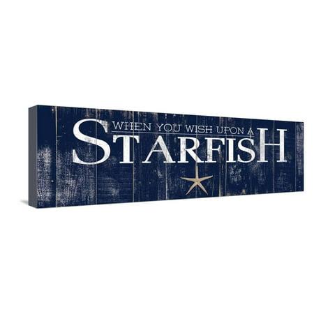 - Starfish Stretched Canvas Print Wall Art By Elizabeth Medley