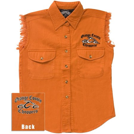 Orange County Shields (Orange County Choppers - Logo Sleeveless Women's Shirt)