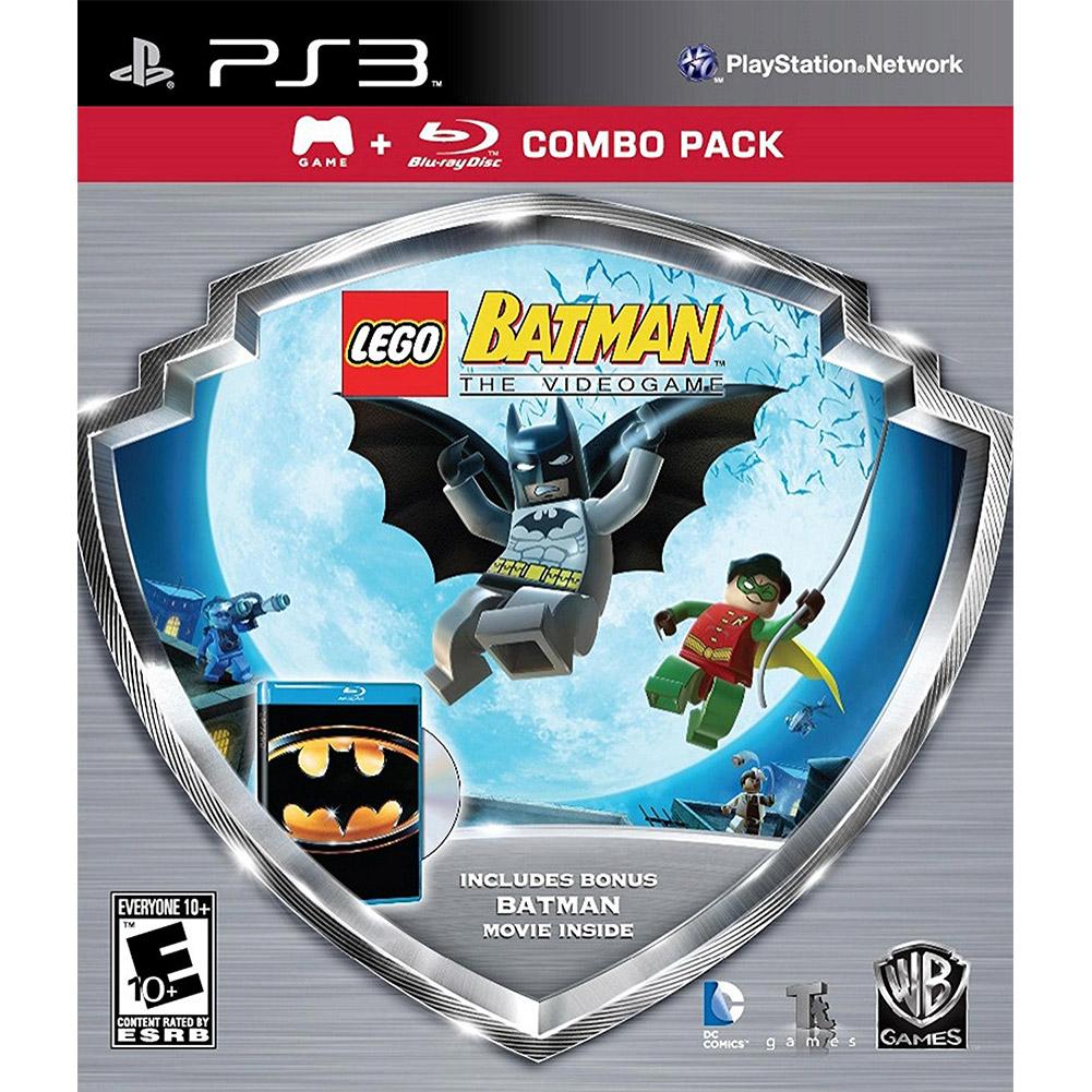 LEGO Batman Game/Batman Movie Bluray Combo Pack, WHV Games, PlayStation 3, 883929315710