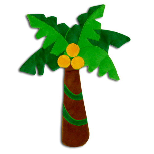Fisher Price - Rainforest Wall Hanging, Palm Tree