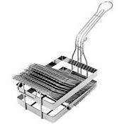 Tostada Shell Tortilla Fryer Basket Tostado Cooking Maker Frying Fry Holder Rack