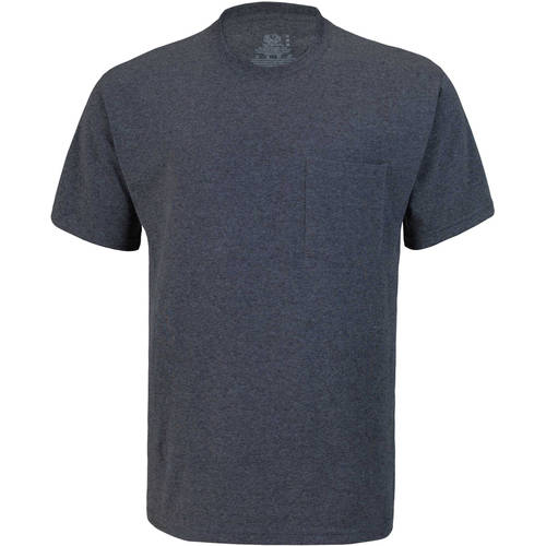 Fruit of the Loom Men's Short Sleeve Pocket Tee