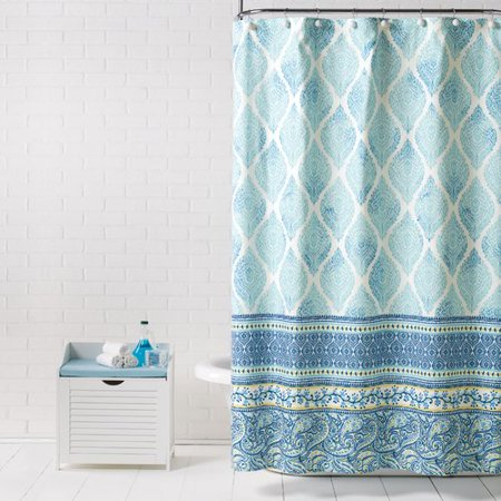 Bungalow Rose Vannoy Fabric Single Shower Curtain