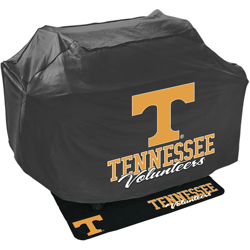 Mr. Bar-B-Q NCAA Grill Cover and Grill Mat Set, University of Tennessee Volunteers