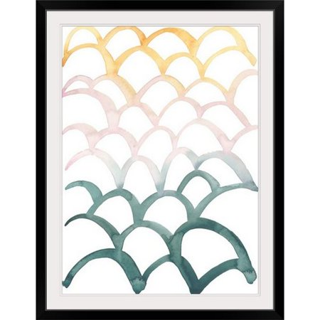Wrought Studio 'Mermaid Scales II' Painting Print