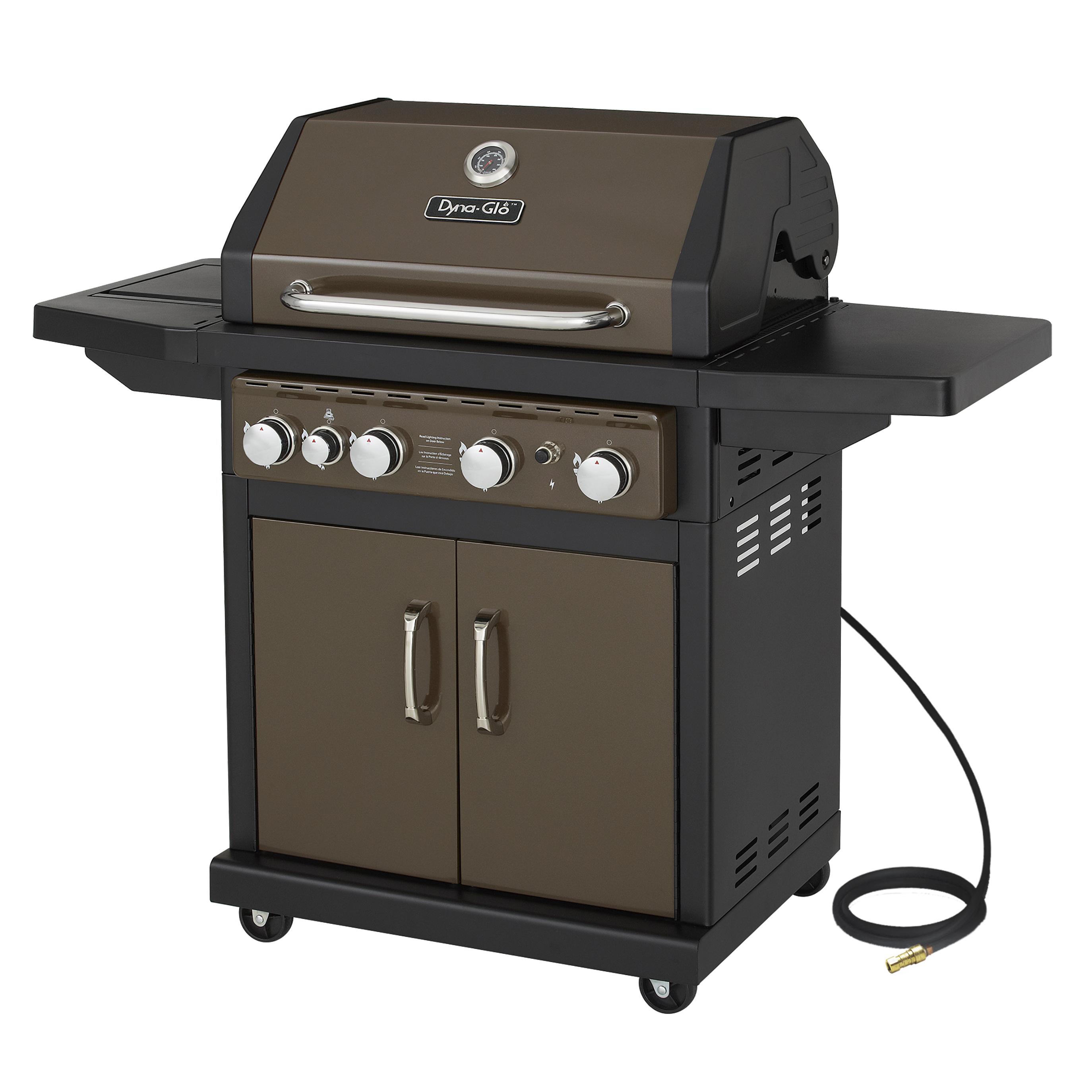 Dyna-Glo DGA480BSN 4 Burner Bronze Gas Grill