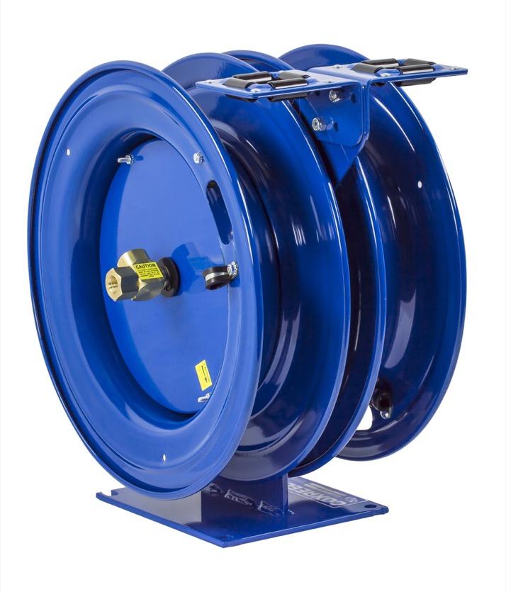 "COXREELS C-HPL-325-325 Dual Purpose Spring Driven Hose Reel 3 8"" x 25ft no hose by Coxreels"