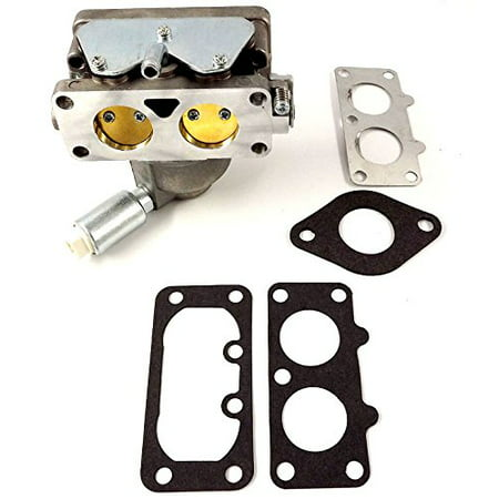 Replacement Carburetor - 796227 Carburetor Carb Replacement with Gaskets for Briggs & Stratton V-Twin Models 407777 40N877 40R877 445677 445877 44L777 44M777 44P777 44R677 # 796227