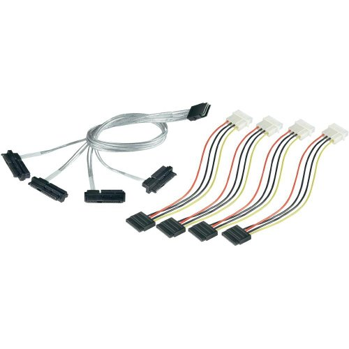 Adaptec 2247100-r 1m Serial Attached Scsi (sas) Internal Cable