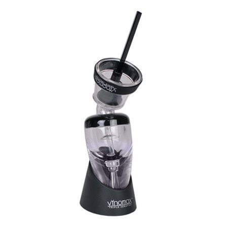 Vinomax Triple Aeration VINOMAX-PTA Wine Pourer Triple Aerator with Stand