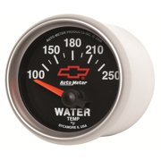 C3 C4 C5 C6 C7 Corvette 1968-2014+ Autometer 2-1/16 inch Water Temperature 100-250F - GM Black