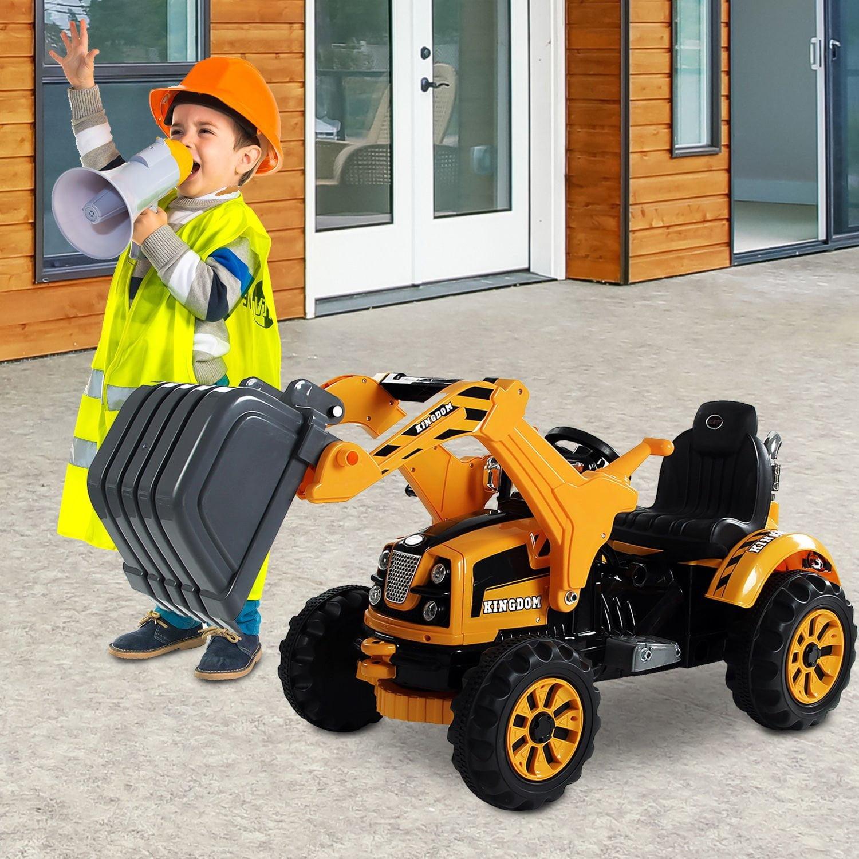 New MTN-G 6V Kids Ride on Car Digger Excavator Toy Electr...
