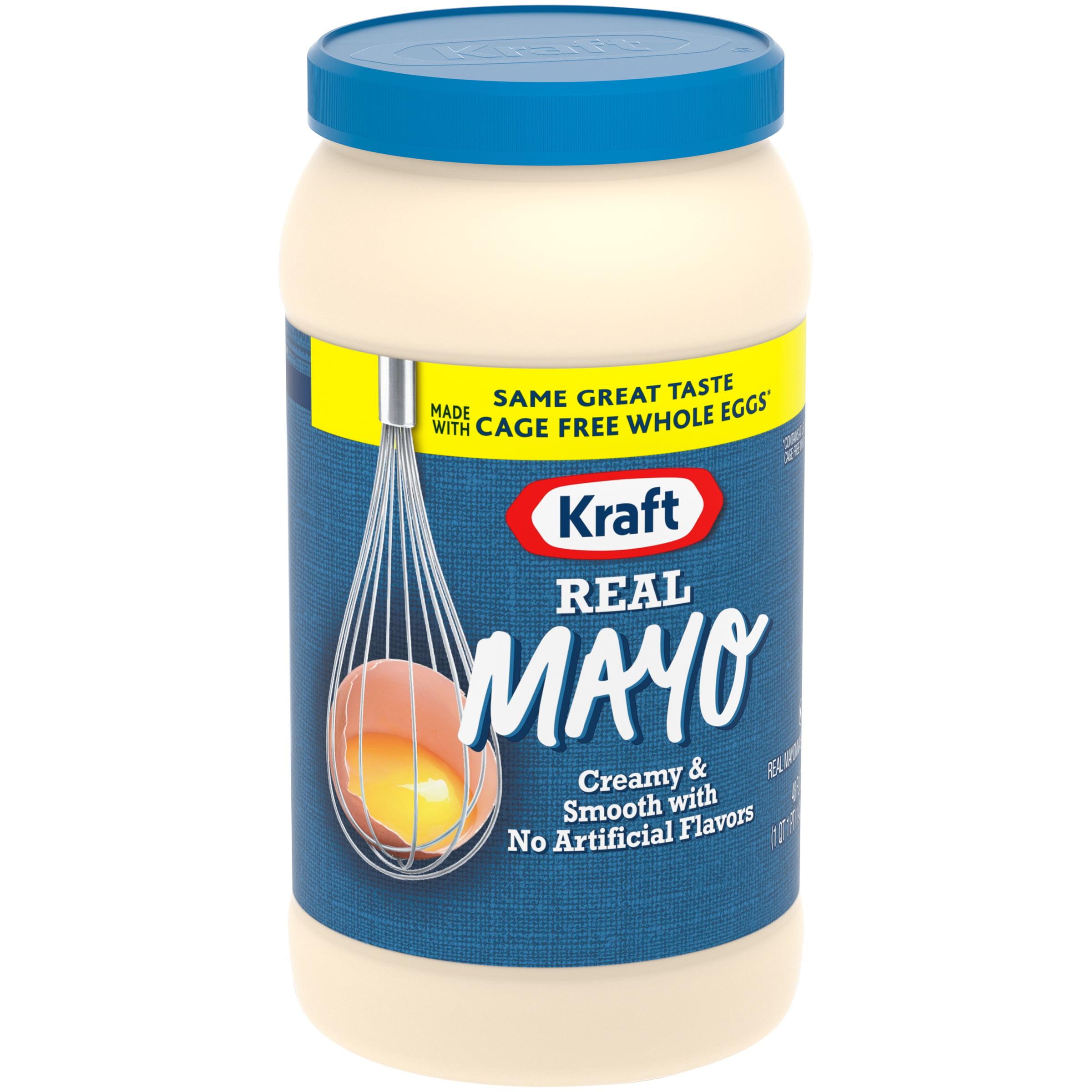 Kraft Mayo Mayonnaise Real, 48 fl oz, Jar