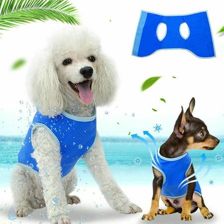Pet Cooling Vest Cool Cooling Jacket Coat for Puppy Cat