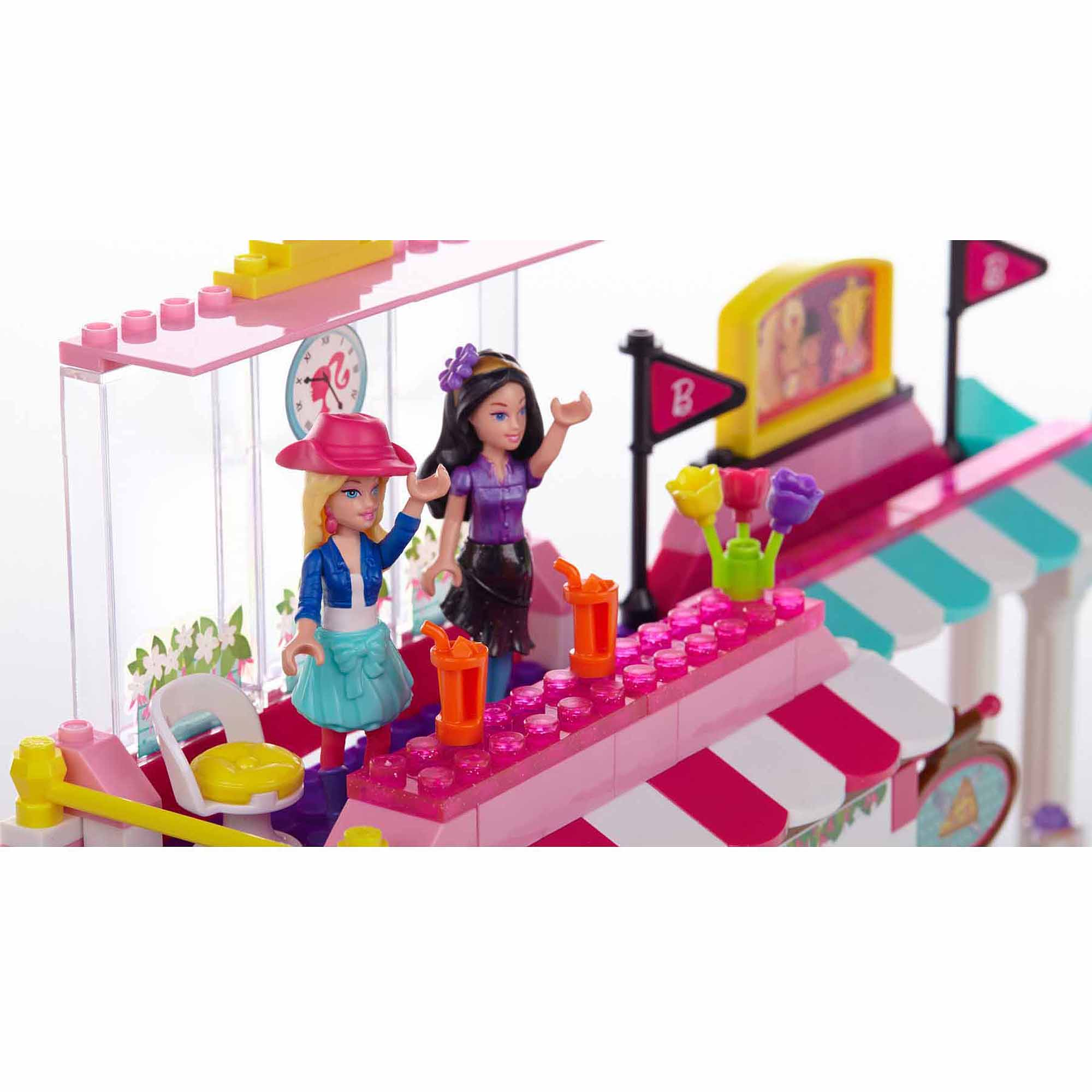 Mega Bloks Barbie Build 'n Play Horse Event Play Set