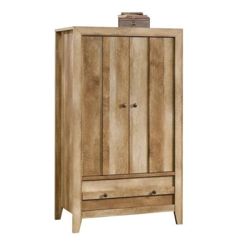 Pemberly Row Armoire in Craftsman Oak