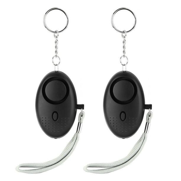 Tkoofn 2 Pack Personal Alarm 130db Emergency Self Defense Keychain