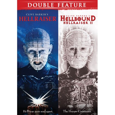HORROR DOUBLE FEATURE (DVD) (HELLRAISER/HELLBOUND-HELLRAISER 2) (DVD) - Hellraiser Pinhead