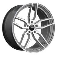 "20"" Inch Konig 33GM Interform 20x8.5 5x120  Graphite/Machined Wheel Rim"