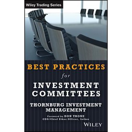 Best Practices for Investment Committees - eBook