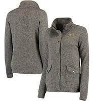 LSU Tigers Colosseum Women's Flyaway Full-Zip Jacket - Charcoal