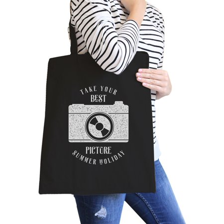 Take Your Best Picture Summer Holiday Reusable Canvas Grocery Bag - Take Your Canvas Bags