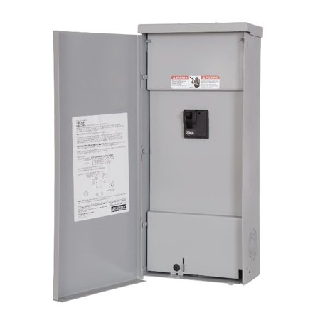 Siemens - W0202MB1200CU - 200A - Main Breaker - 1 Phase - Copper Bus - 2 Space - 2 Circuit - NEMA 3R Outdoor - 1P - 3W