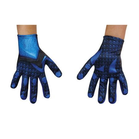 Blue Power Ranger Movie 2017 Child Costume Gloves Child Special Ranger Gloves