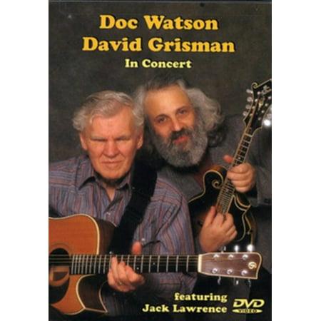 Watjen Concert Organ - Doc Watson - David Grisman in Concert - David Grisman, Doc Watson - DVD - 13082DVD