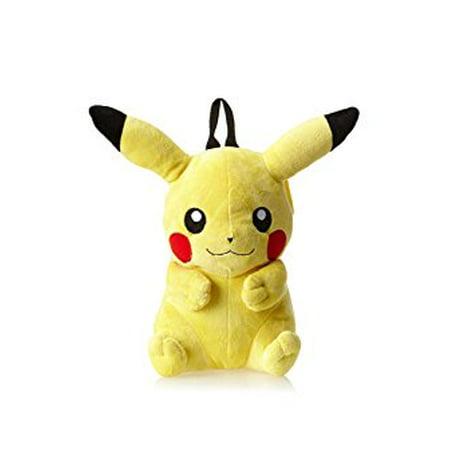 Sole Trader Pikachu Plush Backpack Bag Around 42cm 16 5